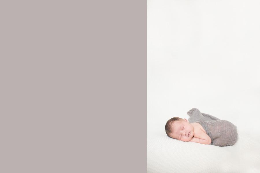 light and soft newborn baby photographer