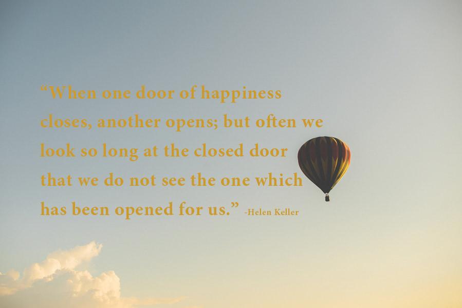 happiness door