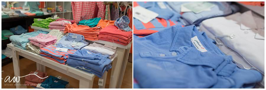 Comfortable boy's polo shirts at Little Peeps in South Tampa.