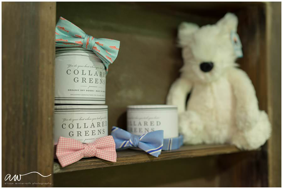 Bow ties made by Collard Greens for sale at Tampa clothing shop.