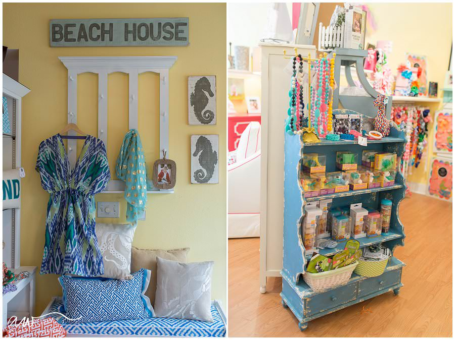 beach decor and teething necklaces at little peeps in tampa fl