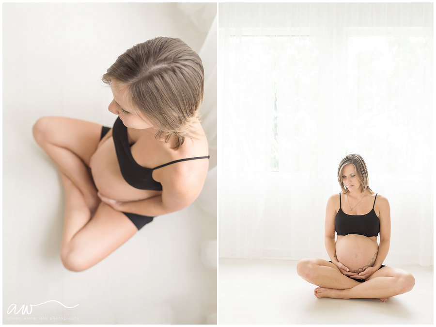 Tampa Bay maternity boudoir photographer.
