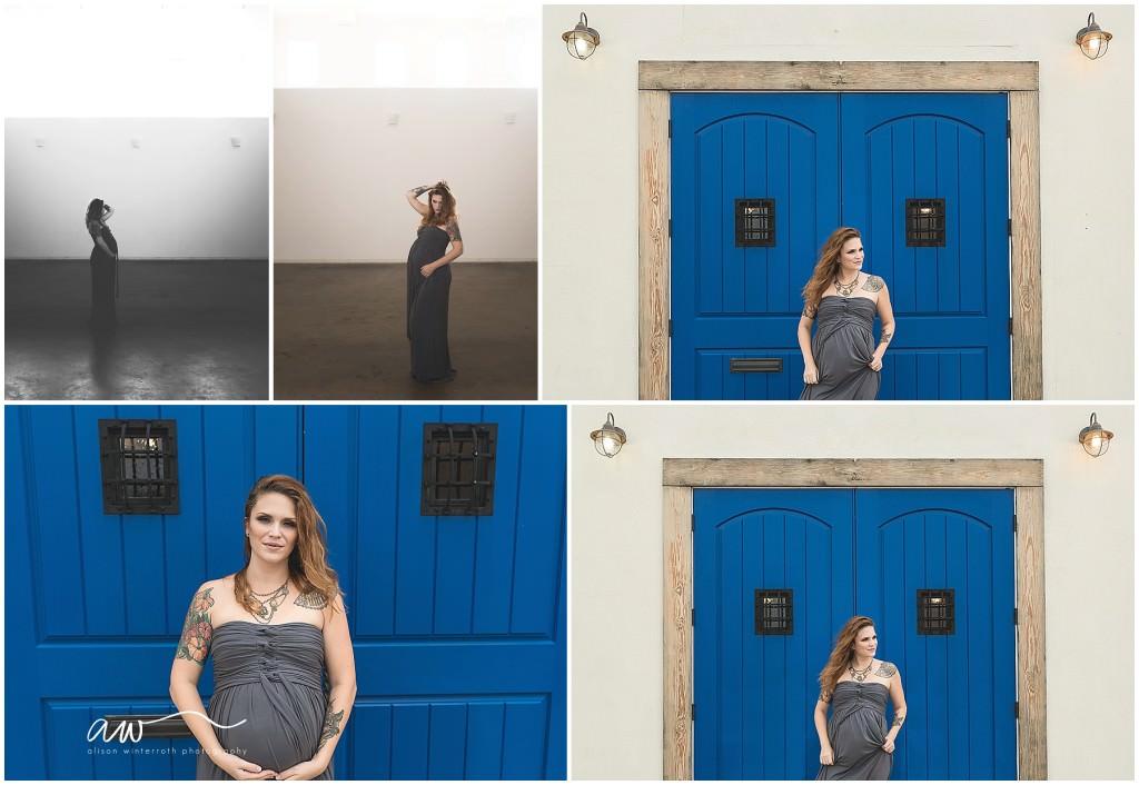 tampa maternity photography rialto theatre