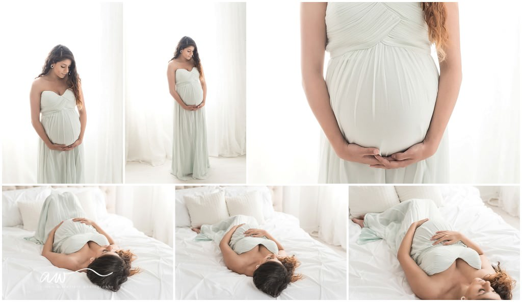 Natural Studio Maternity Photography Tampa