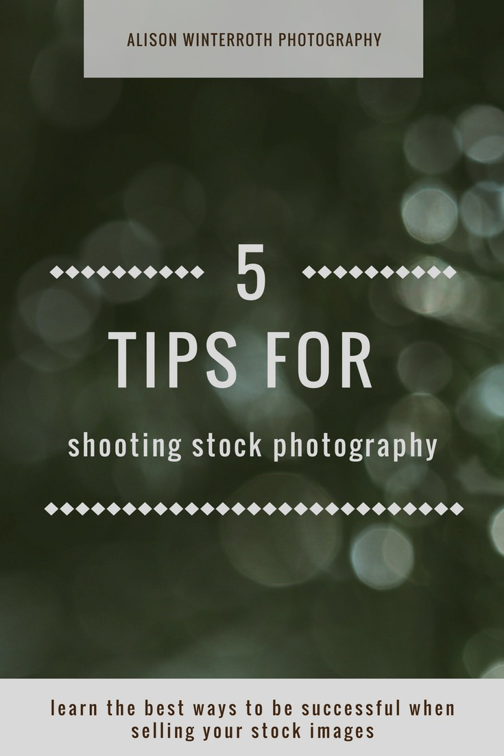 5 best tips for shooting stock photography